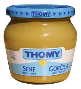 Gorčica Thomy, delikatesna, 400g
