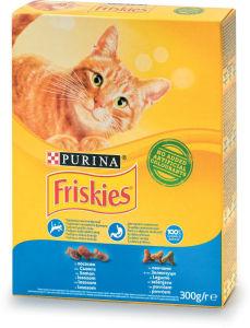 Briketi za mačke Friskies, več vrst