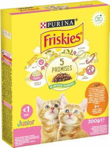 Briketi za mačke Friskies junior, 300g