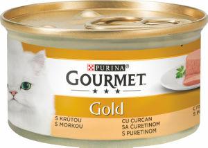 Hrana za mačke Gourmet, puran, 85g