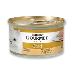 Hrana za mačke Gourmet Gold, več okusov