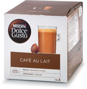 Kava Nescafe, Dolce Gusto cafeaulait, 160g