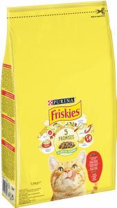 Briketi za mačke Friskies, piščanec, 1,5kg