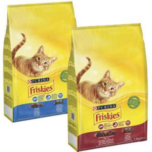 Briketi za mačke Friskies, raz. okusi, 1,5kg