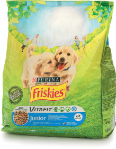 Briketi Friskis, Junior, 2,4kg