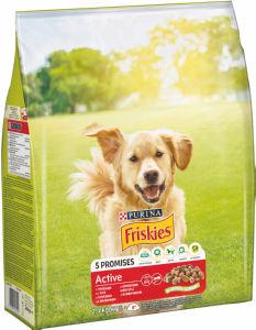 Briketi za pse, Friskies, active, 2,4kg