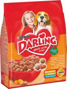 Briketi za pse Darling, 3 kg