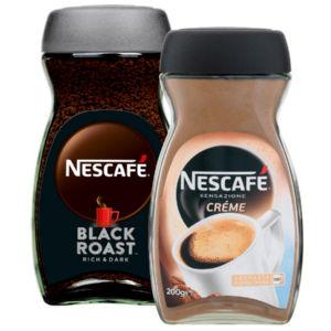 Kava Nescafe, več vrst, 200g