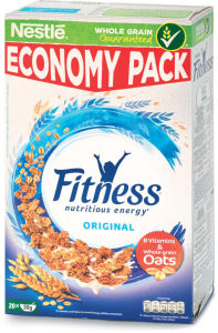Kosmiči Fitnes, pšenica&riž, 625 g