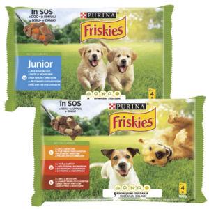 Hrana za pse Friskies,4x100g, več vrst*