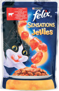 Felix Sensations, govedina, 100g