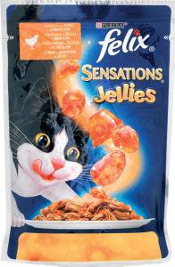 Felix Sensations, piščanec, 100g