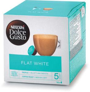 Kava Nescafe, Dolce Gusto, Flatwhite, 187,2g