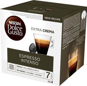 Kava Nescafe Dolce Gusto, espresso intenso, 112g