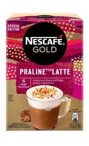 Cappuccino Nescafe, Gold Praline Late, 144g