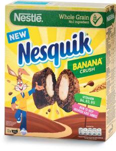 Kosmiči Nesquik, banana pillows, 350 g