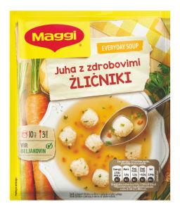 Juha Maggi Dober tek, z zdrobovimi žličniki, 47 g