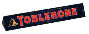 Čokolada mlečna Toblerone, temna, 100g