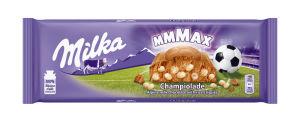 Čokolada mlečna Milka, Champiolade, 270g