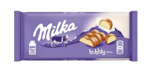 Čokolada mlečna Milka, bubbly, 95g