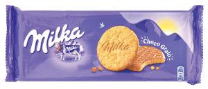 Keksi Milka, choco grains, 126 g