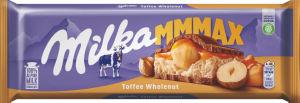 Čokolada mlečna Milka, Toffe nuts, 300 g
