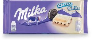 Čokolada mlečma Milka, Oreo White, 100g
