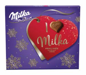Bonbonjera Milka ml., praline lešnik, 110g