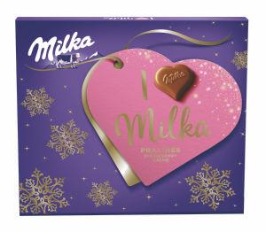 Bonbonjera Milka ml., praline jagoda, 110g