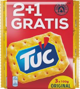 Krekerji Tuc, triopack, 3x100g