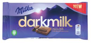 Čokolada Milka mlečna dark, 85g