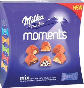 Bonbonjera Milka ml. Moments, mix, 169g