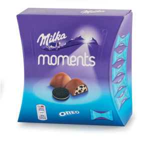 Bonbonjera Milka ml. Moments, Oreo, 92g