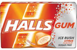 Žvečilni gumi Halls citrus, 18g