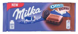 Čokolada Milka Oreo, Brownie, 100g
