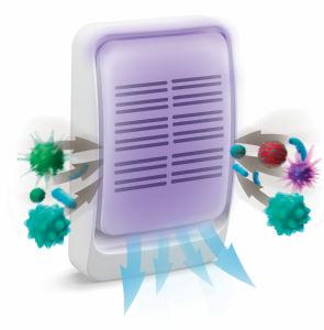 Čistilnik zraka Rovus, priročni