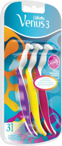 Brivnik Gillette, Simply Venus 3 – multicolor, 3/1