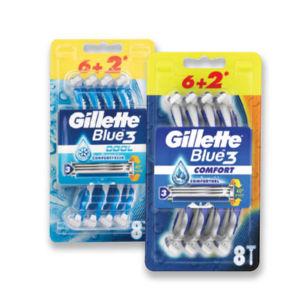 Brivnik Gillette Blue 3 Cool, 6+2
