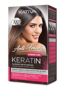 Preparat za ravnanje las Kativa Keratin Anti Frizz, Xtreme care, učinkuje 12 tednov