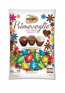 Jajčka, čokoladna, polnjena, 200g