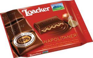 Čokolada mlečna Loacker, napolitaer, 54g