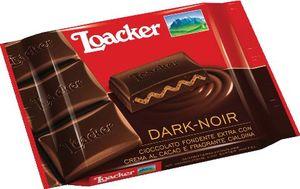 Čokolada Loacker, dark noir, 55g