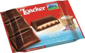 Čokolada mlečna Loacker, milk, 55g