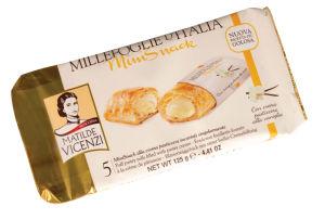 Pecivo Mini Snack, iz list.testa, z van.kremo, 125g