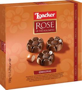 Napolitanke Loacker, Rose, ml.čokolada, 150g
