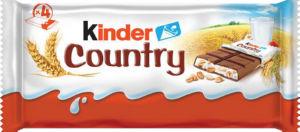 Čokolada Kinder Country, T4x24, 94g