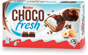 Rezina mlečna Kinder, Shoco Fresh, 102,5g