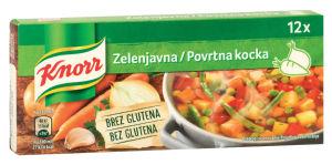Kocka Knorr, zelenjavna, 120g