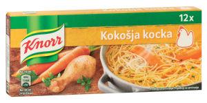 Kocka Knorr, kokošja, 120g