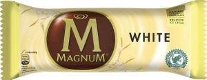 Sladoled Magnum z belo čokolado, 120ml